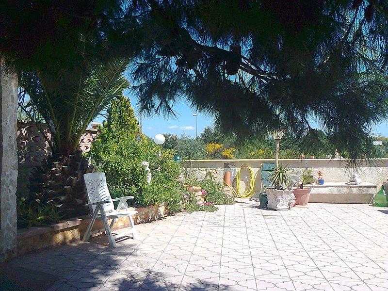 Jardim da área de entrada