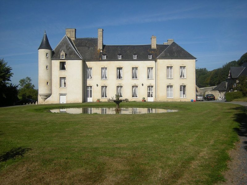 Chambre Parc Le Château d'Asnières en Bessin - Omaha Beach, location de vacances à Vierville-sur-Mer