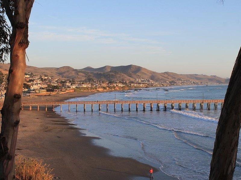 Lovely Oceanfront Condo, alquiler de vacaciones en Cayucos