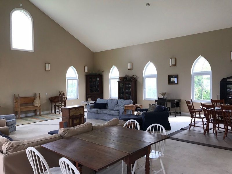 Another view of the living room looking east