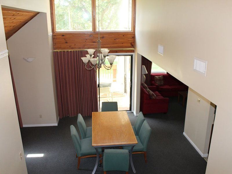 Dining Room from the top of the stairs