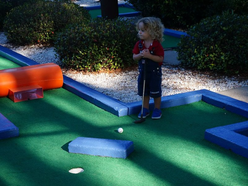 Miniature golf is fun for all ages!