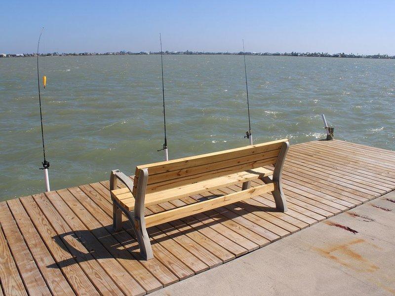 Ny Fiske Dock med plats för dina fiskestänger