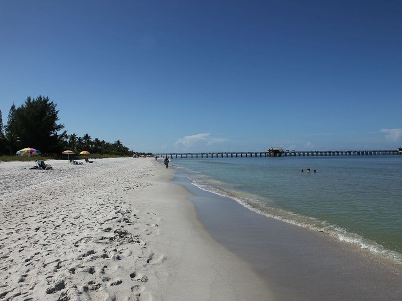 Naples pier just a few minutes drive from house