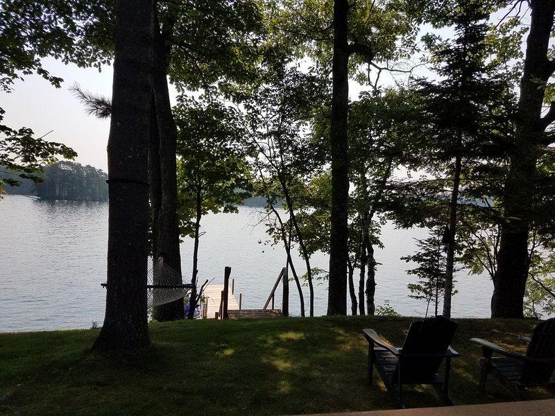 Location, Location, Location - Lake Kawaga Cozy Cottage, holiday rental in Arbor Vitae