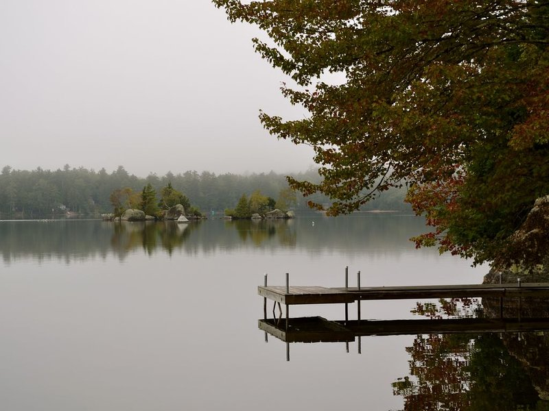 Traditional Lakefront Cabin Located On Beautiful George's Pond, holiday rental in Sullivan