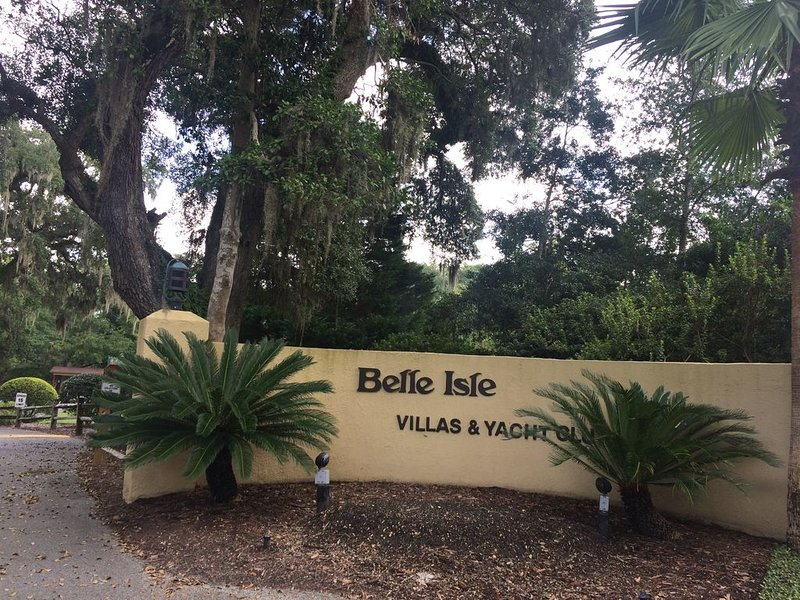 Entrance to Belle Isle
