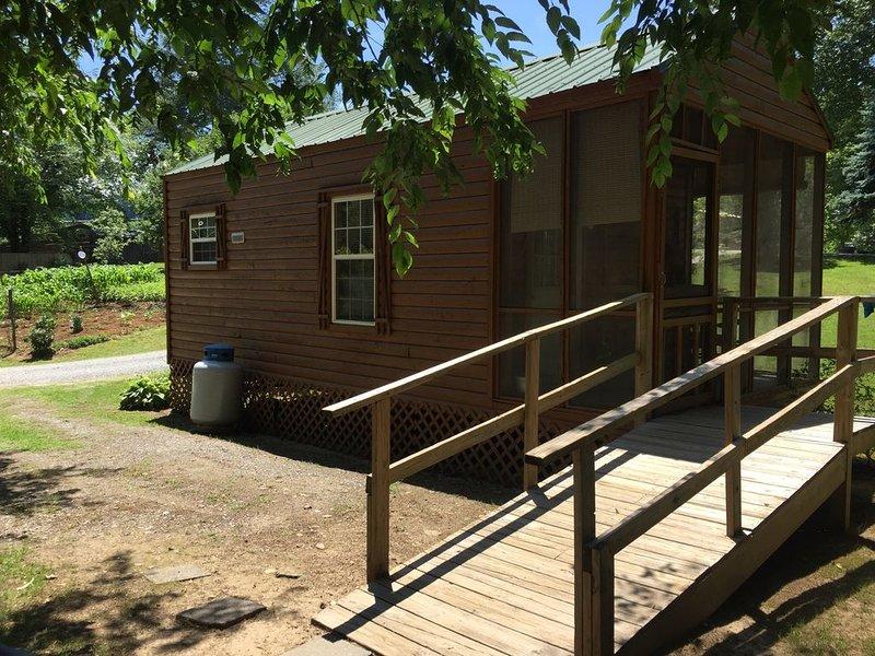 CREEKSIDE CABINS  - CHIPMUNK, location de vacances à Parc national des Great Smoky Mountains