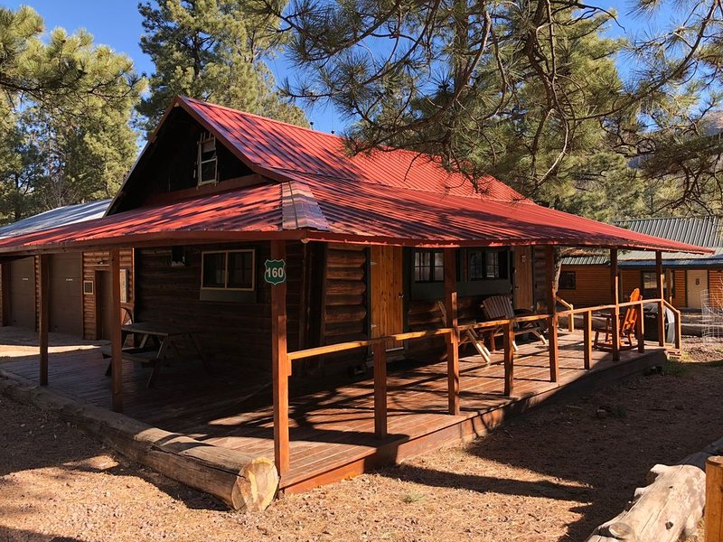 Rustic Cabin Nestled in the Pines.. Kids and Pet Friendly, aluguéis de temporada em Greer