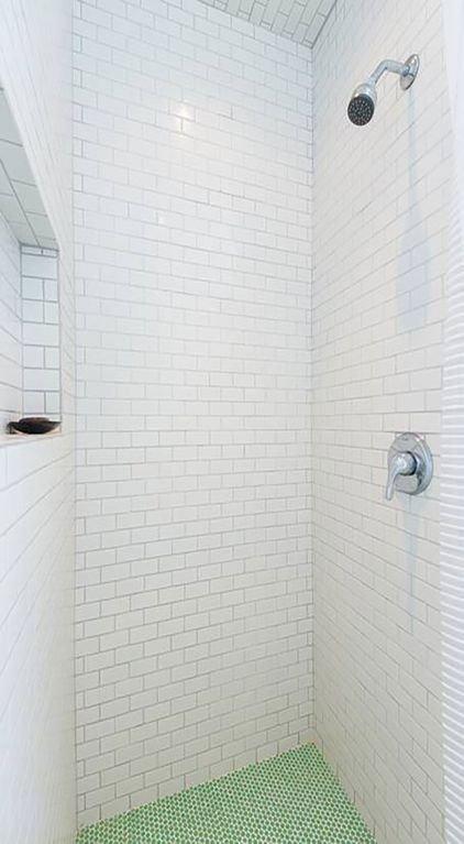 HUGE, spa-like shower.