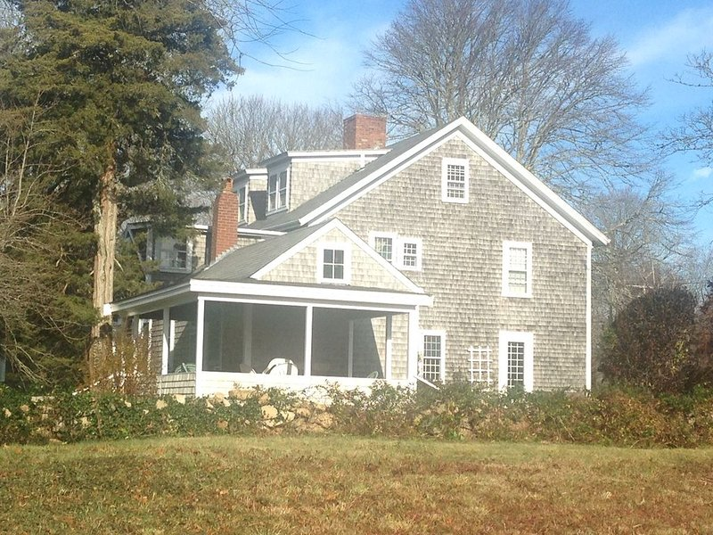 Completely renovated historic property in the heart of West Falmouth Village., vacation rental in Falmouth
