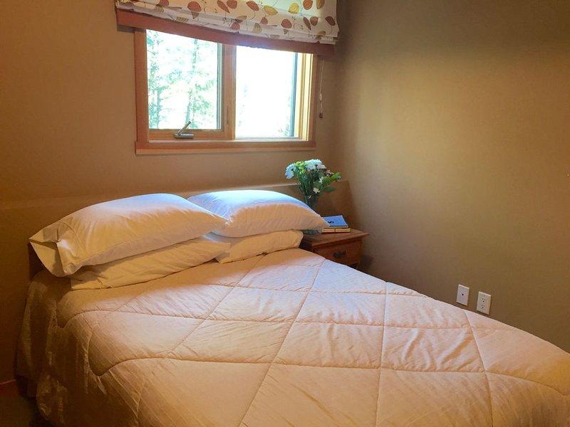 Schlafzimmer Nr. 4 - Doppelbett im Erdgeschoss