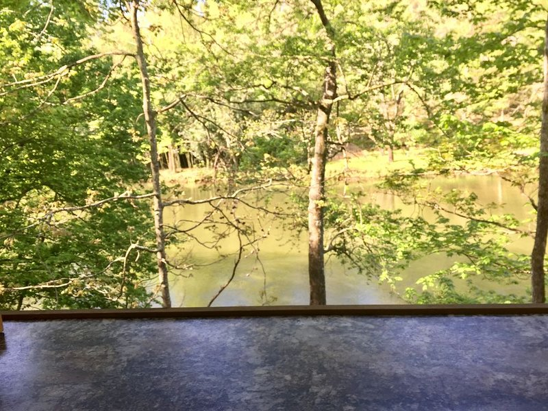 Charming Waterfront Cabin On The Oconaluftee River we call ' The Love Nest'., holiday rental in Whittier