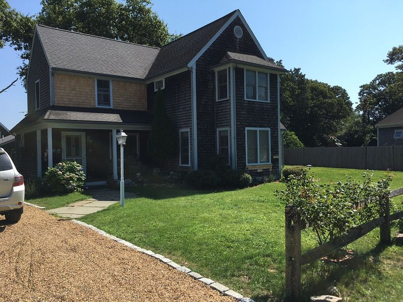 Perfect Family Home, walk or bike to town, holiday rental in Edgartown