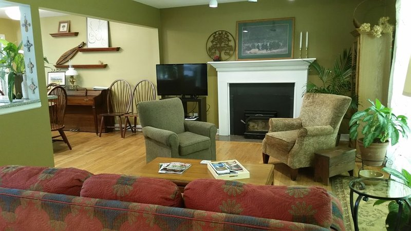 Cozy2BR,  Home away from home!  1mile from 4 downtown microbrew, aluguéis de temporada em Flat Rock
