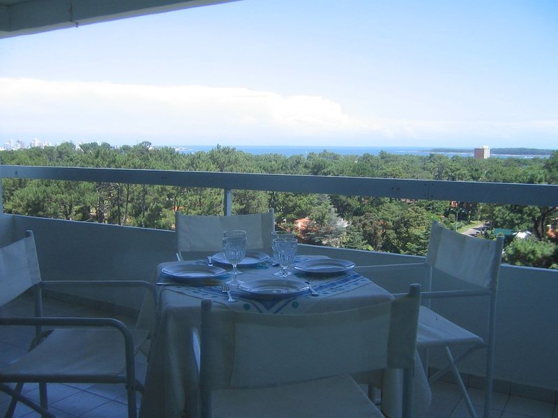 Amazing Views of the Mansa Beach, holiday rental in Punta del Este