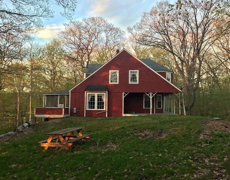 Cottage do pátio lateral