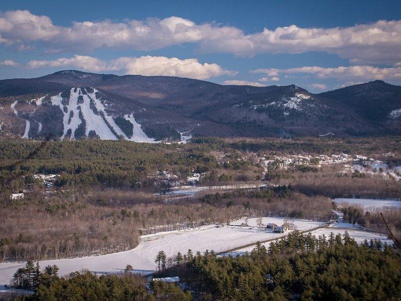 Cranmore Mountain Resort ca 10 minuter bort