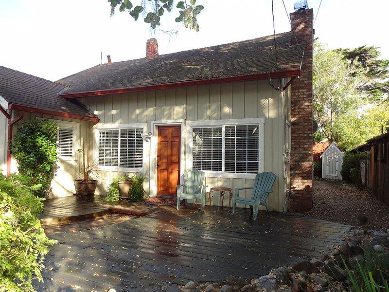 Front Entrance of Cottage
