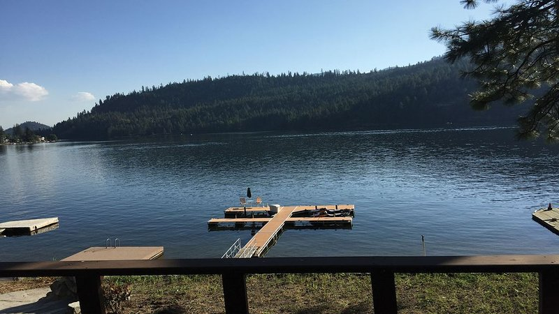 Gorgeous Dock Just Steps Away