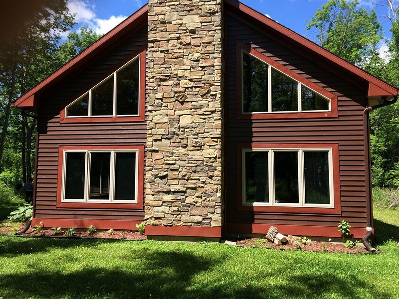 Luxury Northwoods Lakehome - Bone Lake, Wisconsin, Polk Co. Lic. #76778, vacation rental in Luck