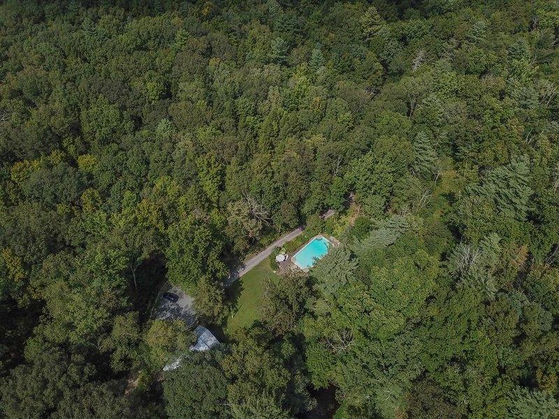 100 acres isolés avec un mile de la limite du parc Minnewaska.
