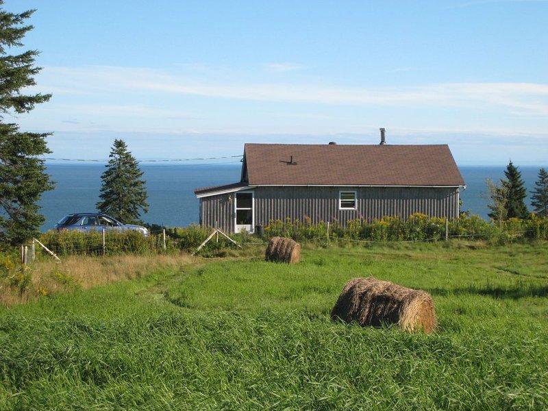 Waterfront On Beautiful Unspoiled Bay Of Fundy.  Great Hiking, Pristine Beaches!, aluguéis de temporada em Gardner Creek