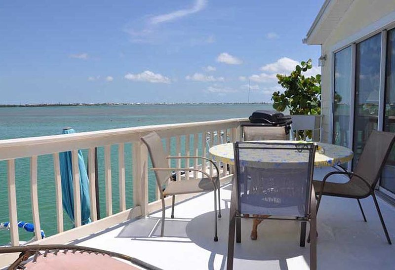 Dolphin House (#386) with beautiful open water views, holiday rental in Cudjoe Key