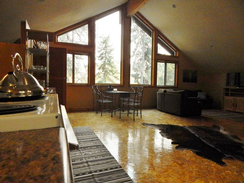 'The Farm'- Custom Studio Loft, 8 miles to Leavenworth, vacation rental in Dryden