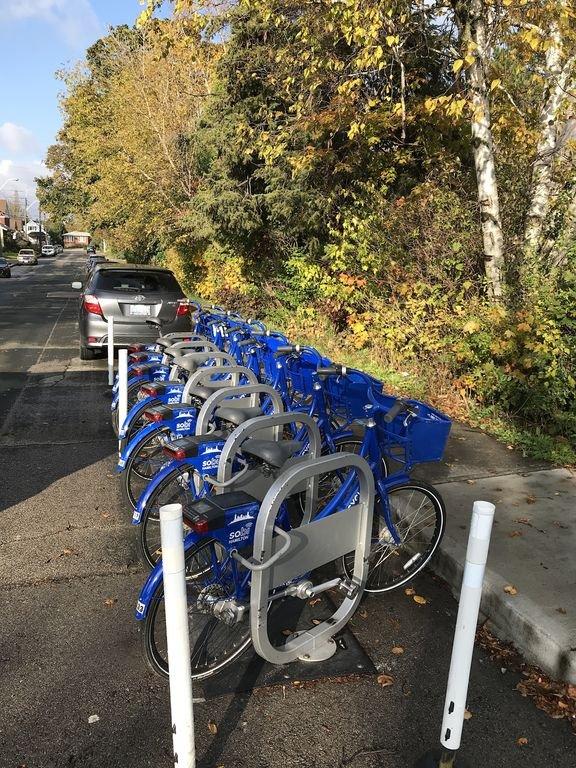 Alquiler de bicicletas cercanas