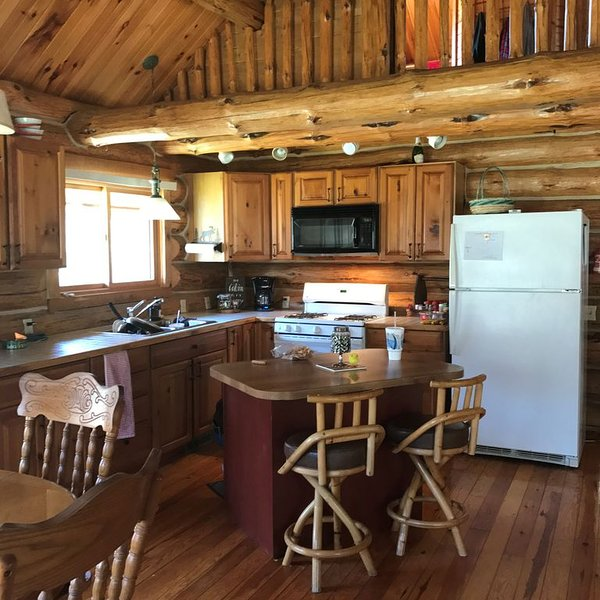 Remote Log Home on Northbranch of the Boardman River!, aluguéis de temporada em Kalkaska County