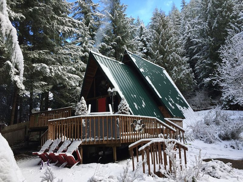 Beautiful A-frame Near Mount Rainier National Park and Crystal Mountain, holiday rental in Enumclaw
