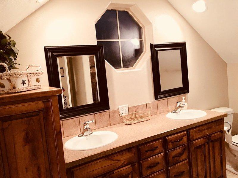 banheiro no andar de cima