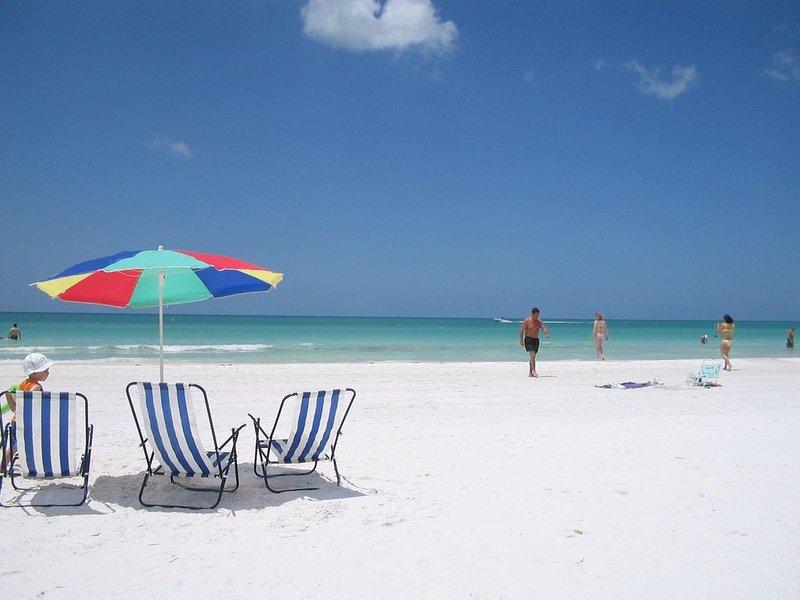 Siesta Key plages sont moins de 1 mile