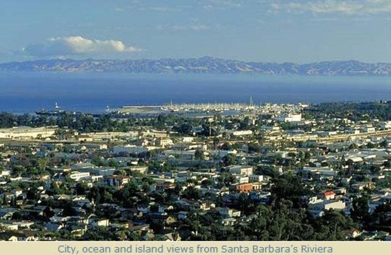 Sweeping Ocean Views: Three Mins to Beach or Downtown, holiday rental in Santa Barbara