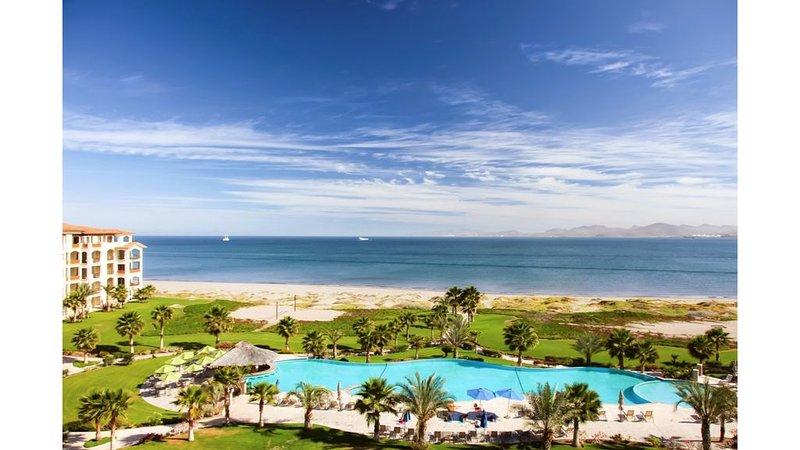 beach facing luxury condo, vacation rental in La Paz