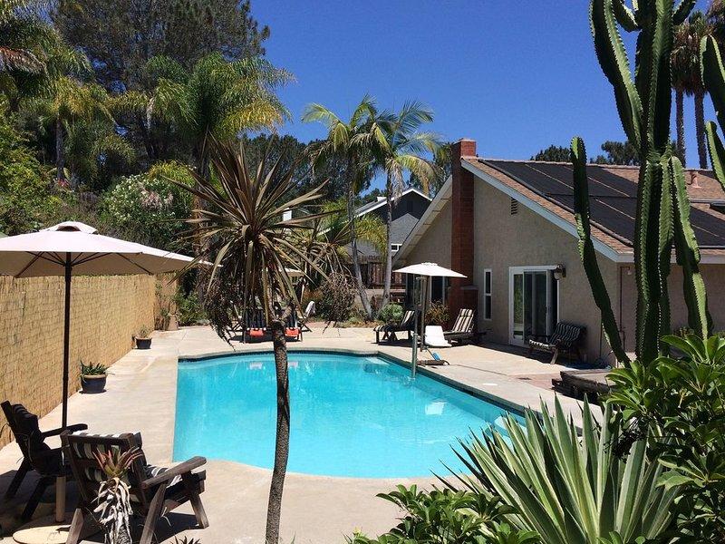 Family-friendly escape in Encinitas w/private pool & spa – semesterbostad i Encinitas