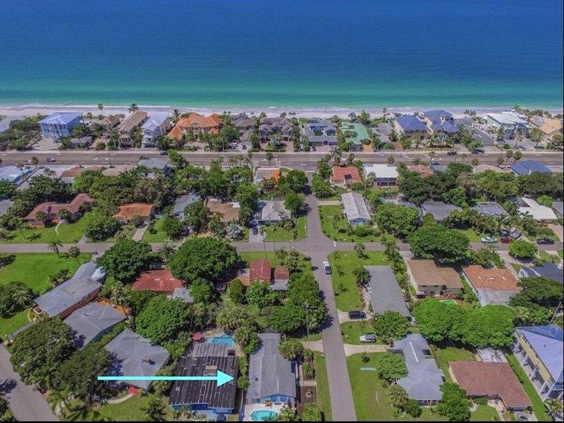 Quiet Gulf Beach Getaway, alquiler de vacaciones en Redington Beach