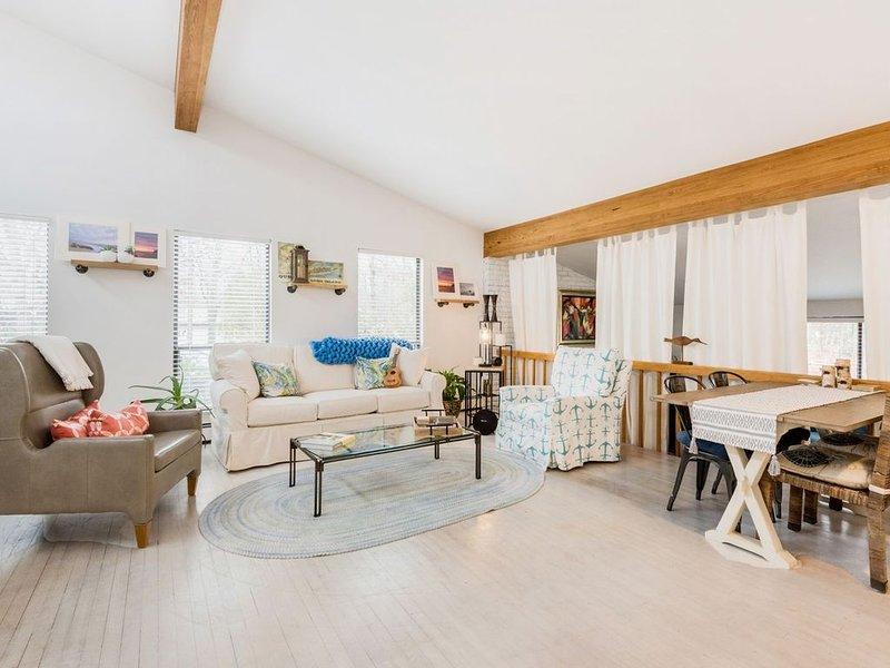 Beautiful Country Beach House in East Hampton, aluguéis de temporada em Springs