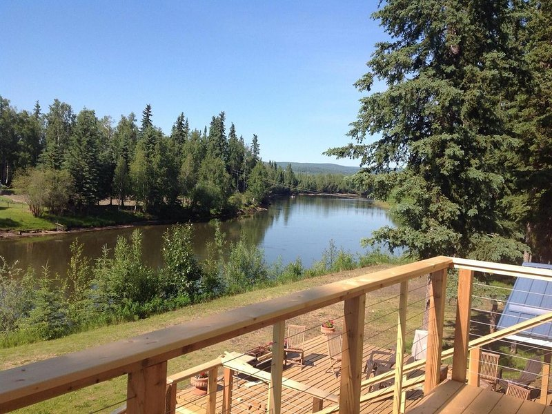 View from the deck off the master bedroom