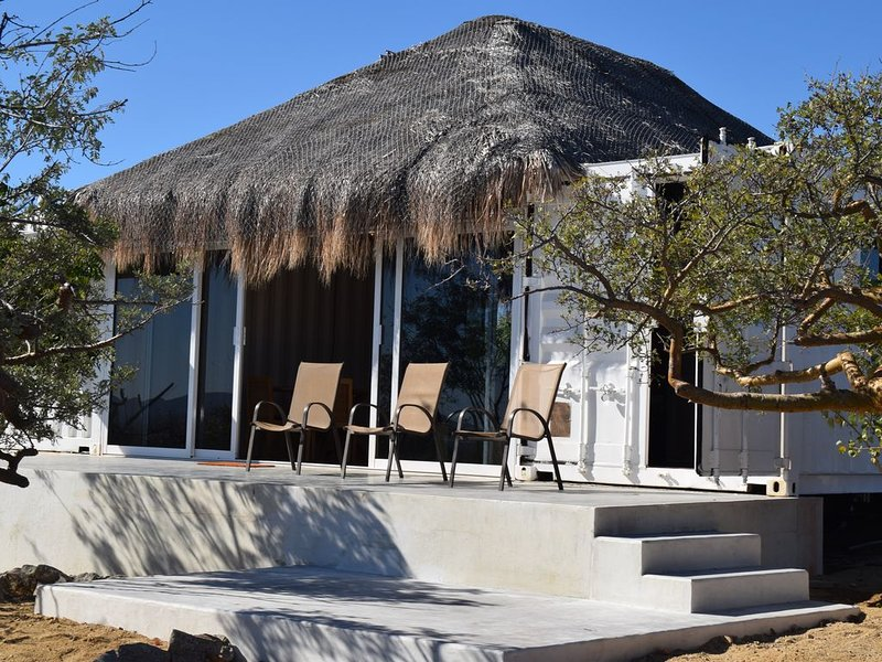 Shipping Container House in The Heart of Town, holiday rental in El Sargento