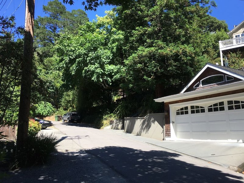Our home features a separate two-car garage, where you can park your car.