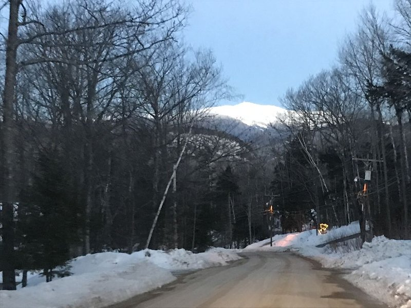 View of Mt. Washington at our home!