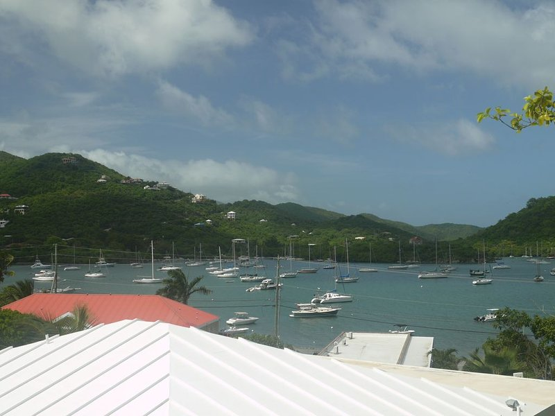 Tasteful Caribbean Home on the Harbor *Strong WIFI*, location de vacances à Coral Bay