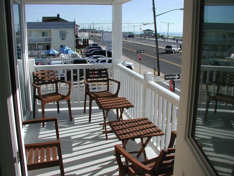 Ocean Front Townhouse Seaside Park, NJ, alquiler de vacaciones en Seaside Park