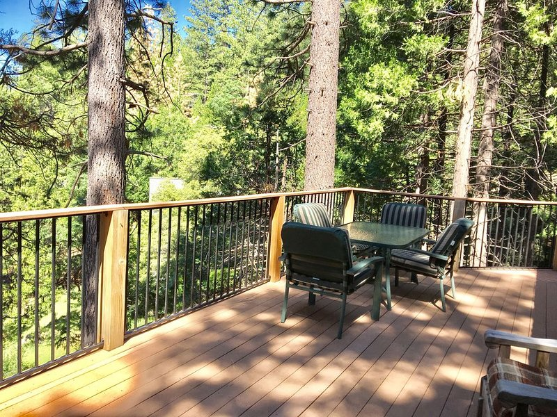 Pinecrest Lake Area Cabin. 3BR/2BA (Sleeps 7-9) $*******/nt., vacation rental in Cold Springs