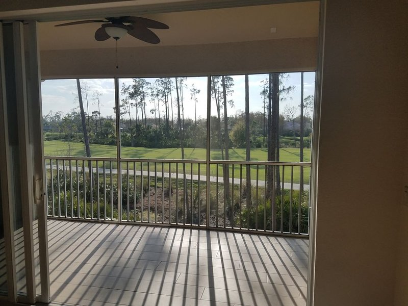 3 Bedroom two Bath spacious Second level condo, 2 to 3 months Jan-march, holiday rental in Estero