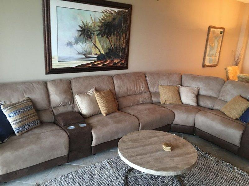 Lazy Boy Reclining Couch (4 poltrone ragazzo pigro)