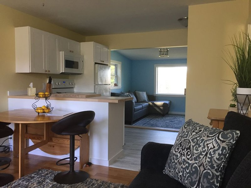 Modern, Open-Layout Condo near Bretton Woods & Mountainview Grand Hotel, vacation rental in Whitefield