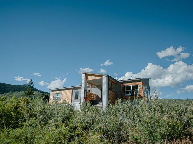 Modern and Spacious Eco Ski Estate, alquiler de vacaciones en Pitkin